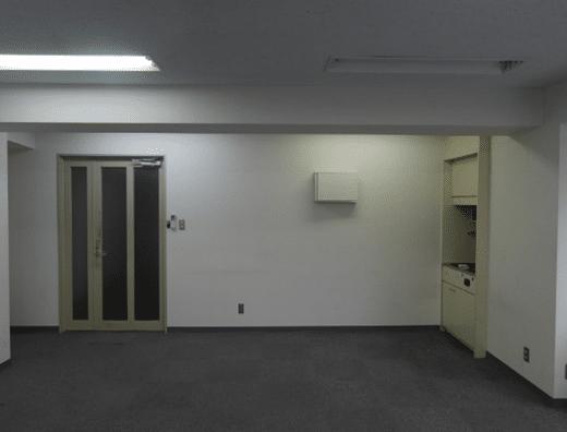 スケルトンオフィス例茅場町(施工前)