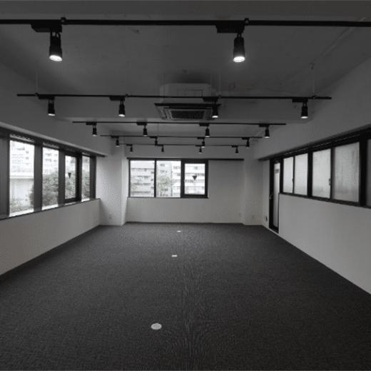 スケルトンオフィス例茅場町2(施工済)