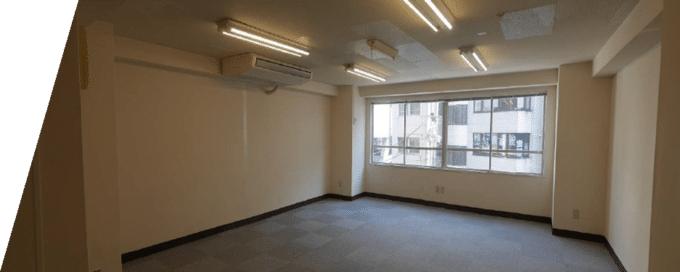 スケルトンオフィス例 高野第1ビル(施工前)