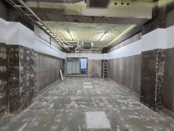 スケルトンオフィス東京 自由が丘 1棟 地下1階 スケルトン