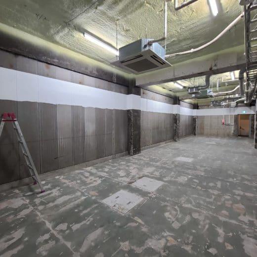 スケルトンオフィス東京 自由が丘 地下1階 スケルトン店舗