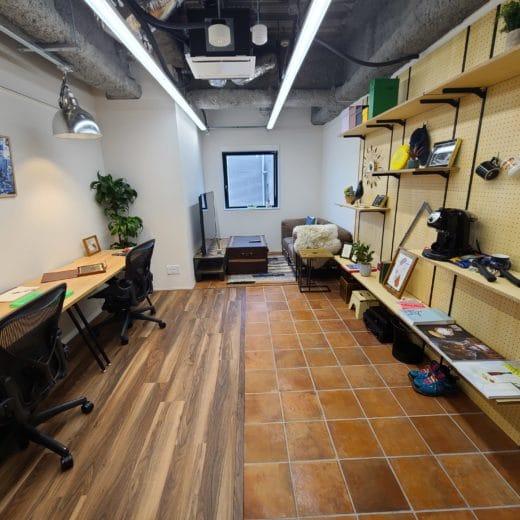 H1O渋谷神南 室内 スケルトンオフィス
